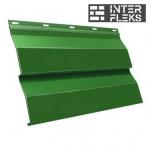 Металлический сайдинг GL Корабельная доска RAL 6002 лиственно-зеленый (Grand Line)
