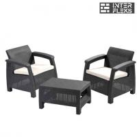 Комплект уличной мебели Keter Corfu Weekend