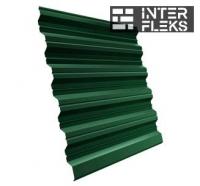 Кровельный профнастил GL-35R RAL 6005 зеленый мох
