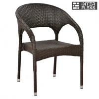 Кресло из иск. ротанга Y90C-W51 Brown