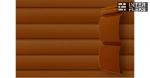 Виниловый сайдинг GL Блок-хаус 3,0 D4,8 светлый дуб (AСA)