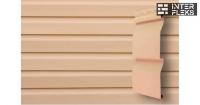 Виниловый сайдинг GL Корабельная доска Слим 3,0 D4 персиковый