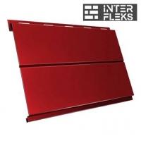 Металлический сайдинг GL Вертикаль line RAL 3011 коричнево-красный (Grand Line)