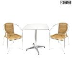 Комплект мебели  LFT-3099A/T3125-60x60 Cappuccino (2+1)
