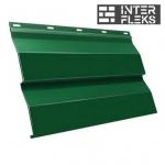 Металлический сайдинг GL Корабельная доска RAL 6005 зеленый мох (Grand Line)