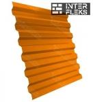Кровельный профнастил GL-21R RAL 2004 оранжевый