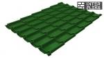 Металлочерепица Grand Line Classic RAL 6002 лиственно-зеленый