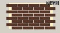 Фасадная термопанель Termosit с клинкерной плиткой Ceramika Paradyz Semir Brown