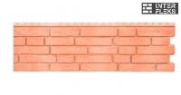 Фасадная и цокольная панель Я-Фасад Демидовский кирпич красный