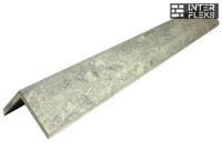 L-планка WOODVEX Colorite бело-серая 53х53