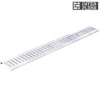 Канальная решетка дренажной системы стальная