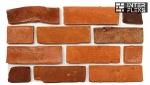 Фасадная керамическая плитка Царский кирпич