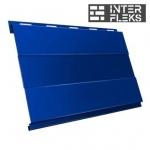 Металлический сайдинг GL Вертикаль prof RAL 5005 сигнальный синий (Grand Line)