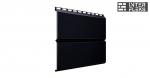 Металлический сайдинг GL ЭкоБрус RAL 9005 черный (Grand Line)