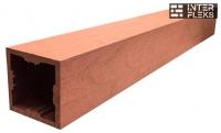 Столб Woodvex терракота 100х100