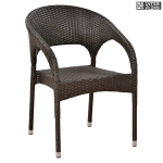Кресло из иск. ротанга Y90C-W2390 Brown