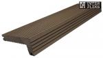 Финишная доска WOODVEX темно-коричневая 146х22х55