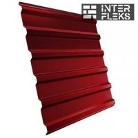 Кровельный профнастил GL-20R RAL 3011 коричнево-красный