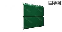 Металлический сайдинг GL ЭкоБрус RAL 6005 зеленый мох (Grand Line)