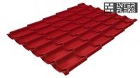 Металлочерепица Grand Line Classic RAL 3003 рубиново-красный