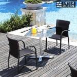 Комплект мебели из иск. ротанга LFT-3125A/Y282A-W52 Brown (2+1)