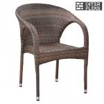 Кресло из иск. ротанга Y290BG-W1289 Pale