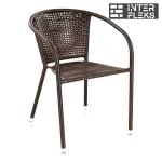 Кресло из иск. ротанга Y137B-W51 Brown