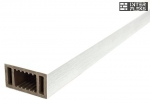 Перила Woodvex White co-extrusion (белый) 100х50
