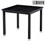 Стол из иск. ротанга T246ST-90x90 Black