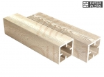 Столб Sequoia Evolution 3D WOOD WHITE