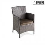 Кресло из иск. ротанга Y189B Brown