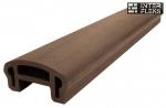 Перила WOODVEX фигурные темно-коричневый 50х100