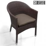 Кресло из иск. ротанга WS2907B Brown