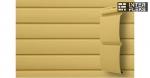 Виниловый сайдинг GL Блок-хаус 3,0 D4,8 карамельный