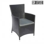 Кресло из иск. ротанга Y189D Black