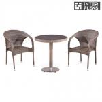 Комплект мебели из иск. ротанга. T501DG/Y290BG-W1289 Pale (2+1)
