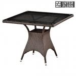 Стол из иск. ротанга T220BBT-W52-90x90 Brown